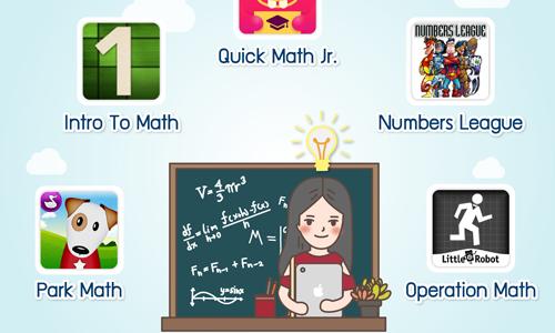 5 แอปพลิเคชันสอนคณิตศาสตร์สำหรับเด็กปฐมวัย